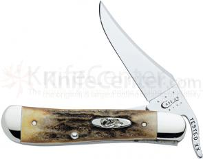 Case Genuine Stag RussLock 4-1/4 inch Closed (51953L SS)