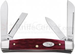 Case Magenta Bone Medium Congress 3-5/8 inch Closed (64052 SS)