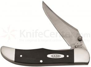 Case Black G10 Mid-Folding Hunter 4 inch Closed (101265LC SS)