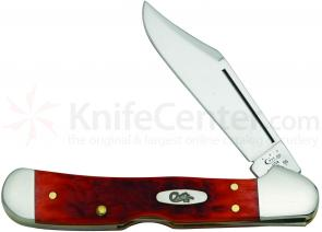 Case Dark Red CV Mini CopperLock 3-5/8 inch Closed (61749L CV)