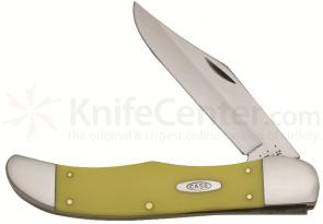 Case Yellow Synthetic Large Folding Hunter 5-1/4 inch Closed (3165 CV)
