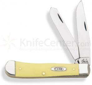 Case Yellow Synthetic Trapper 4-1/8 inch Closed (3254 CV)
