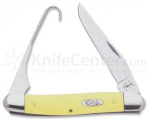 Case Bird Hunter Yellow Handle 3247H SS 3-7/8 inch Closed Folder