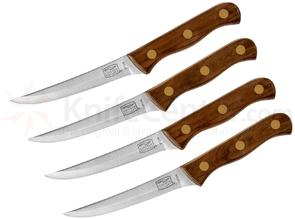 Chicago Cutlery 4 Piece Full Tang Walnut Tradition Steak Knife Set
