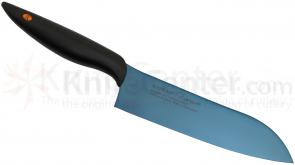 Chroma Cutlery Kasumi Titanium 7-1/8 inch Santoku Japanese Chef's Knife, Coated Molybdenum Vanadium Steel