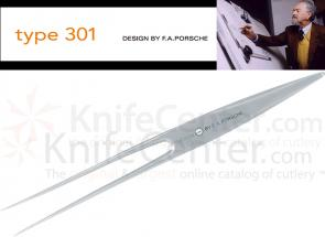 Chroma Cutlery F.A. Porsche Type 301 7 inch Carving Fork, Japanese 301 Stainless Steel