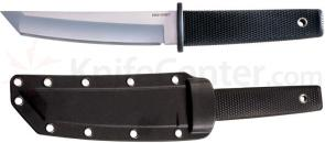 Cold Steel Kobun Light Weight Boot Knife Fixed 5-1/2 inch Tanto Blade, Kraton Handle