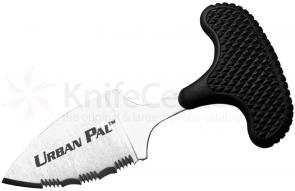 Cold Steel 43LS Urban Pal Push Dagger 1-1/2 inch Serrated Blade, Kraton Handle