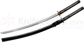 Cold Steel 88PK Steven Seagal Signature Katana 33 inch Damascus Blade, Lacquered Wood Scabbard
