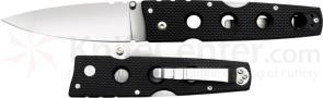 Cold Steel Hold Out II Folding Knife 4 inch Plain Blade, G10 Handles