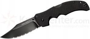 Cold Steel 27TLCCS Recon 1 Clip Point 4 inch CTS-XHP Serrated Blade, G10 Handles
