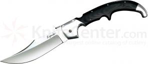 Cold Steel 62NCX Extra Large Espada Folding Knife 7-1/2 inch CTS-XHP Polished Blade, Polished G10 Handles with Aluminum Bolsters