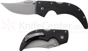 Cold Steel 62NGM Medium Espada Folding Knife 3-1/2 inch Bead Blast Blade, G10 Handles