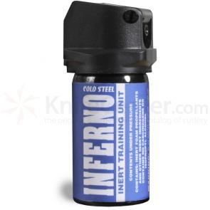 Cold Steel Inferno Pepper Spray 1.3 oz. (37 Grams) Inert Training Unit