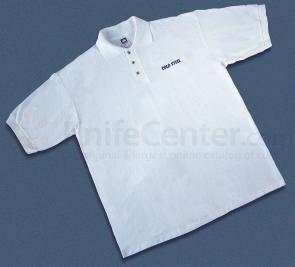 Cold Steel TPW3 Polo Shirt, White, XL