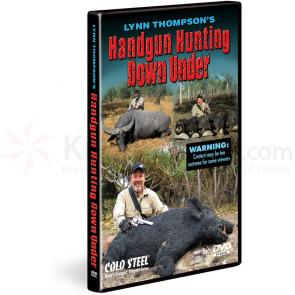 Cold Steel  inchHandgun Hunting Down Under inch DVD by Lynn Thompson