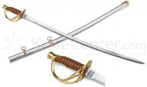 Civil War Sword - CSA Officer's Sword With Scabbard