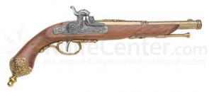 Spanish Made Italian Percussion Dueling Flintlock Pistol, 1825