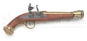 Replica 18th Century Blunderbuss Flintlock Pistol