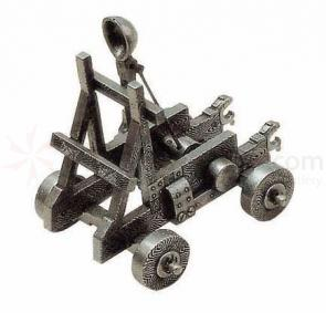 Spanish Made Miniature Medieval Catapult