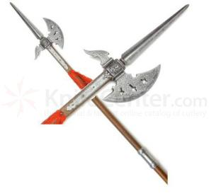 Spanish Made 17Th Century Swiss Halberd