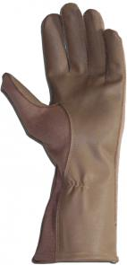 Worldwide Protective Products FG-S Flight Gloves, X-Large, Size 11, Desert Tan
