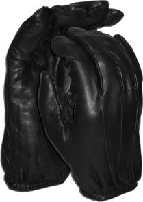 Worldwide Protective Products LE-UNL Unlined Law Enforcement Patrol Gloves, X-Small, Black
