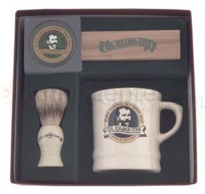 Colonel Conk #221 Mug, Deluxe Boar Brush and Soap Set