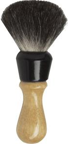 Colonel Conk #344 Pure Badger Shave Brush, Wood Handle