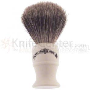 Colonel Conk #850 Deluxe Pure Badger Shave Brush
