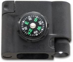 Columbia River 9703 Paracord Survival Bracelet Accessory, Compass, LED and Firestarter