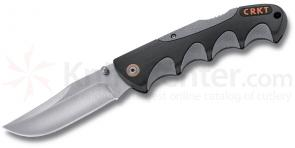 Columbia River 2041 Kommer Free Range Hunter Folder 3.75 inch Clip Point Blade, Nylon Sheath