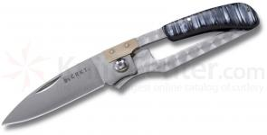 Columbia River Ed Halligan Slip K.I.S.S. 2.75 inch Plain Blade, Anthracite Handles