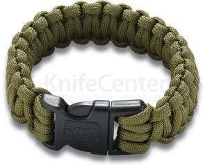 Columbia River 9300DS (Small) Onion Survival Para-Saw Paracord Bracelet, OD Green