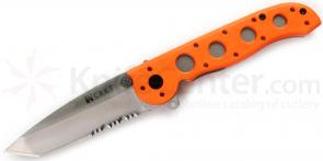 Columbia River Carson M16-12ZER Emergency Rescue Folder 3.5 inch Tanto Blade, Orange Nylon Handles