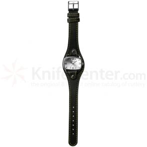 Dakota Watch Company Stainless Men's Dress Watch Black, Silver