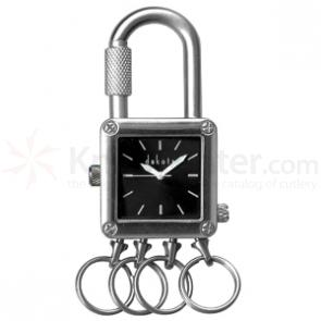 Dakota Watch Company Lock Clip, Black Dial