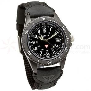 Dakota Watch Company Mens Dakota ION Watch (Black)