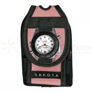 Dakota Watch Company Dakota Versa Pack, Flashlight Watch, Pen, Retrac, Pink