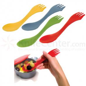 Decor Craft Light My Fire Spork - Spoon, Fork, Knife Combo (4 Pack, Assorted Colors)