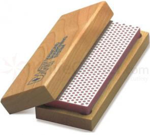 DMT W6F 6 inch Diamond Whetstone Fine with Hardwood Box