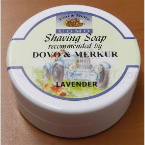 DOVO 514 004 Fiori & Frutta Shaving Soap, 150ml, Lavender