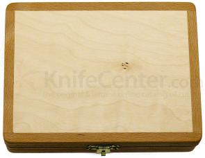 DOVO 843 000 Wooden Storage Box for Straight Razors