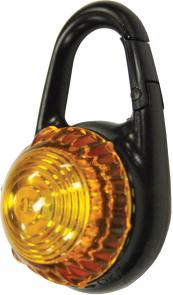 eGear Tag-It Dual Function Clip-On Signal Light, Yellow