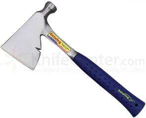 Estwing Carpenter's Hatchet 13 inch Overall, Blue Rubber Handle