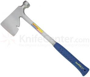 Estwing Riggers Axe 17 inch Overall, Blue Rubber Handle