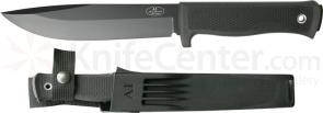 Fallkniven A1 Swedish Survival Knife 6.3 inch Black VG10 Blade, Zytel Sheath