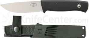 Fallkniven F1 Swedish Pilot Survival Knife 3.8 inch Satin VG10 Blade, Zytel Sheath