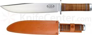 Fallkniven NL1 Northern Light Thor Bowie 10 inch VG10 Blade, Leather Sheath