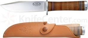 Fallkniven NL4 Northern Light Frej 5.12 inch VG10 Steel Blade, Leather Sheath
